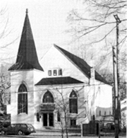 Historic Bethel AME Church in Ann Arbor